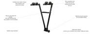 Buzz Rack Gazelle 2 Bike Towbar Mounted Rack