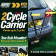 Maypole Towbar Mounted 2 Cycle Carrier