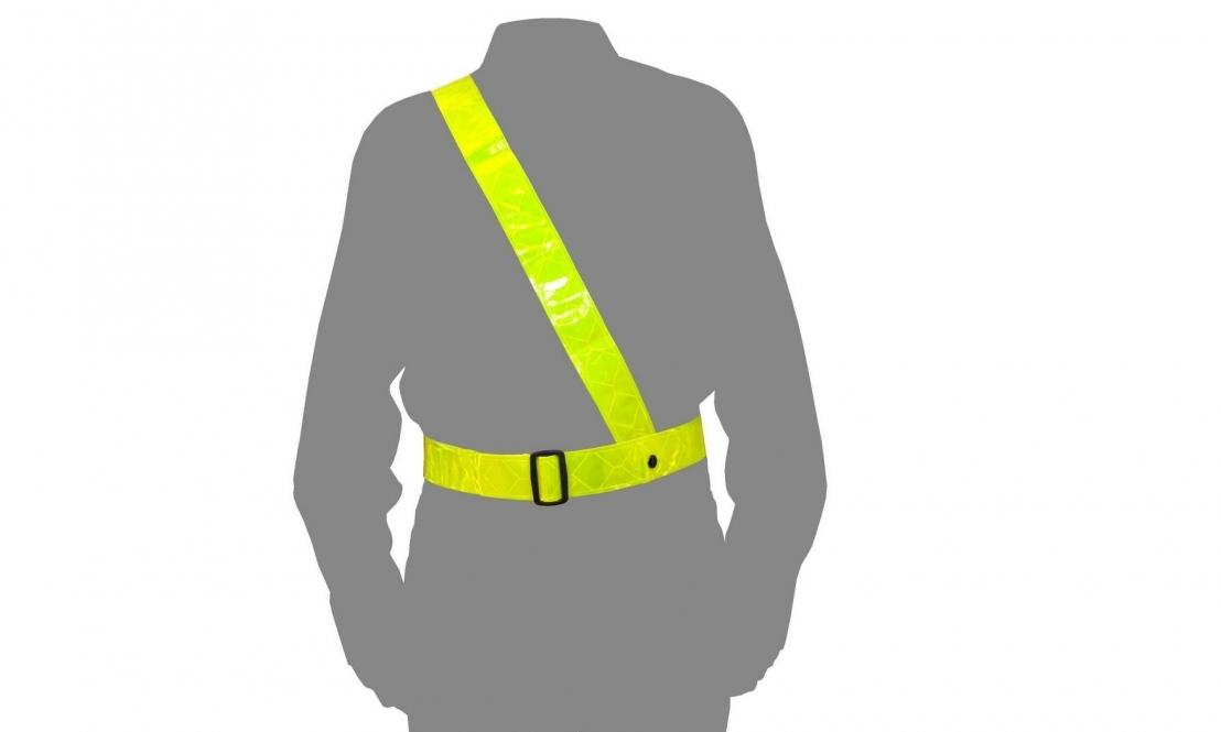 sam browne reflective belt